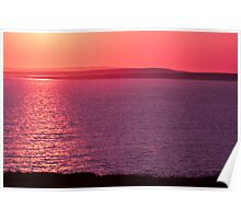 Aran Isalnds Sunset Poster