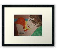 the sleep Framed Print