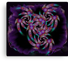 jester tassels Canvas Print