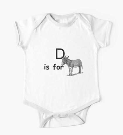 D is for ...V4 One Piece - Short Sleeve