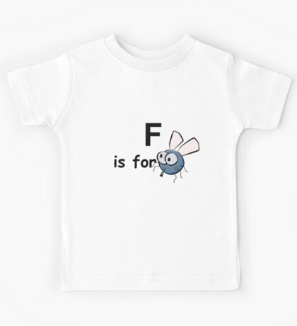 F is for ...V2 Kids Tee