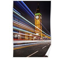 Big Ben and the Colors of the Night Poster