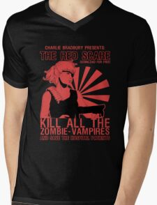 The Red Scare (1) Mens V-Neck T-Shirt