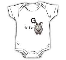 G is for ...V2 One Piece - Short Sleeve