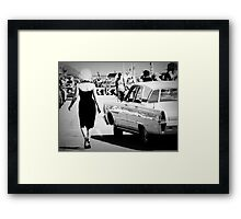 Could it be Marilyn... Framed Print