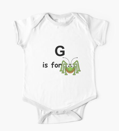 G is for ...V3 One Piece - Short Sleeve