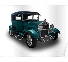 Ford - 1928 Model A Coupe - Stock Poster