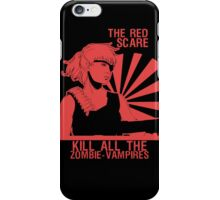 The Red Scare (1) iPhone Case/Skin