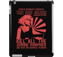 The Red Scare (1) iPad Case/Skin