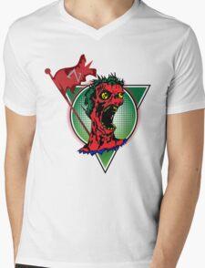 Zombie King Mens V-Neck T-Shirt