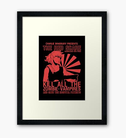 The Red Scare (1) Framed Print