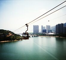 Cable Car Ride - Lomo by chylng