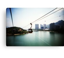 Cable Car Ride - Lomo Canvas Print