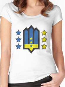 Ukrainian Insurgent Army  Women's Fitted Scoop T-Shirt