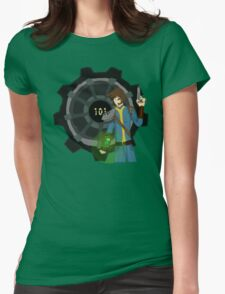 The Lone Wanderer Womens Fitted T-Shirt