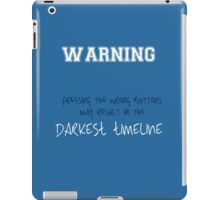 The Darkest Timeline iPad Case/Skin