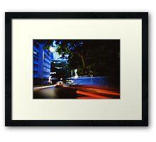Fast/Blur - Lomo Framed Print