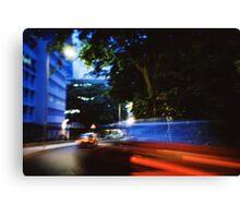 Fast/Blur - Lomo Canvas Print