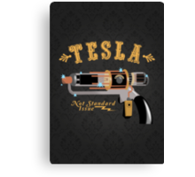 The Tesla - Not Standard Issue Canvas Print