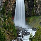 Tumalo Falls, Oregon by DArthurBrown