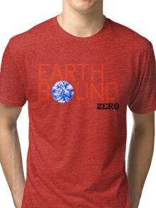 Earth Bound Zero Logo Tri-blend T-Shirt