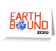 Earth Bound Zero Logo Greeting Card
