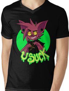 U Suck Mens V-Neck T-Shirt