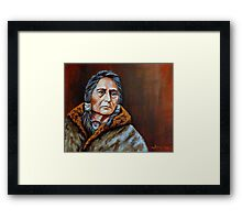 Eyes Of A Nation Framed Print