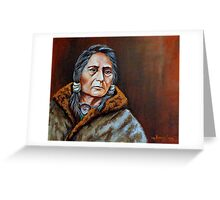 Eyes Of A Nation Greeting Card