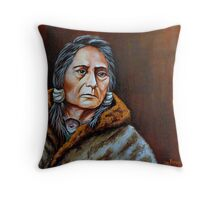 Eyes Of A Nation Throw Pillow