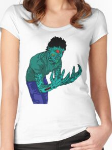 Extreme Zombie  Women's Fitted Scoop T-Shirt