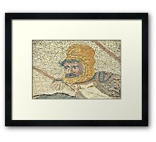 King Darius Framed Print
