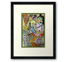 Wizard of Oz Dada Doll Framed Print