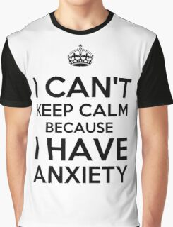 Keep Anxious Graphic T-Shirt