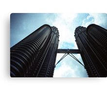 Twin Towers - Lomo Canvas Print