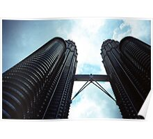 Twin Towers - Lomo Poster