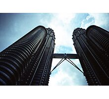 Twin Towers - Lomo Photographic Print