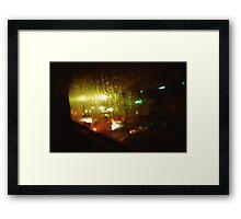 Raindrops Keep Falling - Lomo Framed Print