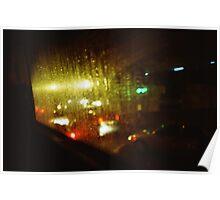 Raindrops Keep Falling - Lomo Poster