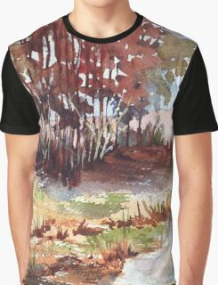 Bluegum bush at the dam Graphic T-Shirt