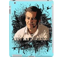 Not His Division!  iPad Case/Skin