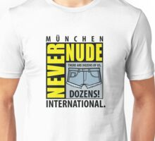 Never Nude Convention Unisex T-Shirt