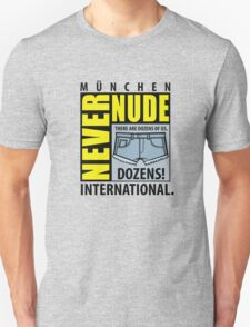 Never Nude Convention T-Shirt