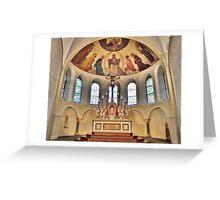 Basilica of St Castors. Greeting Card