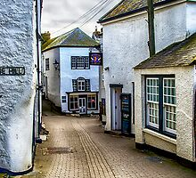 Fore Street Port Isaac by Chris Thaxter