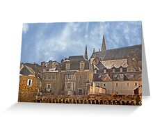 Ramparts de Vannes Brittany France Greeting Card