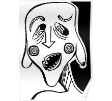 Monster Face Poster