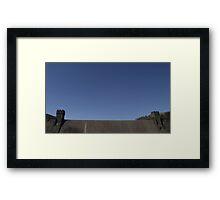 Severn Trent Derwent Valley Dam Framed Print
