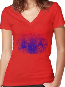 EXTERMINATE!! Women's Fitted V-Neck T-Shirt