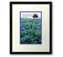 Let The Earth Bring Forth Grass. . . Framed Print